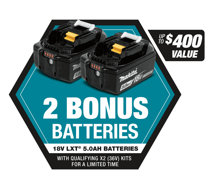 Makita Bonus Battery