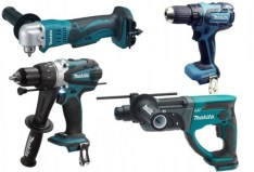 Makita 18v lxt drilling