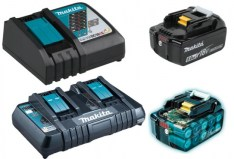 Makita batteries and chargers