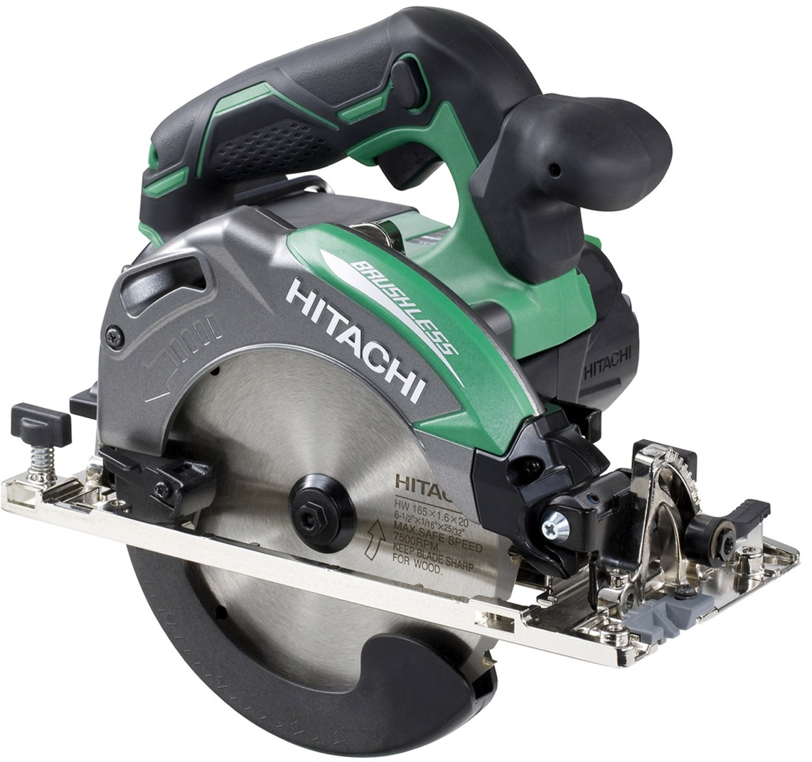 Hitachi bare tools hitachi 18v brushless 165mm circular saw 165mm hitachi 18v brushless 165mm circular saw 165mm bare tool greentooth Choice Image