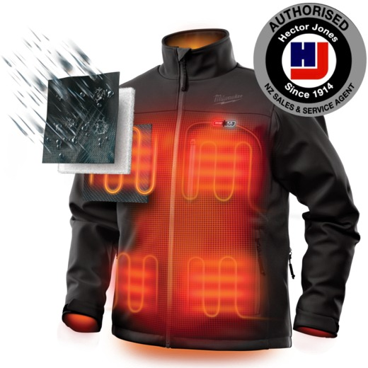 how to turn on m12 heated jacket