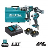 DLX2308T 2pc Drill - Impact Driver 5ah Kit